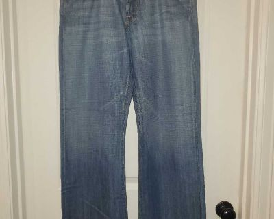 Mens Seven Mankind Jeans Size 33X30