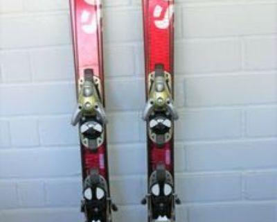 Women's Ski Salomon Scream 8 W Pilot Spaceframe r17 L165 skis