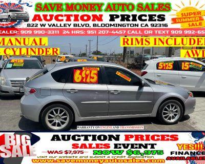 2010 Subaru Impreza Wagon MANUAL> AWD> 4 CYLINDER> RIMS INCLUDED