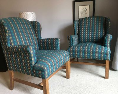 Pair of Chairs from Banff Springs Hotel