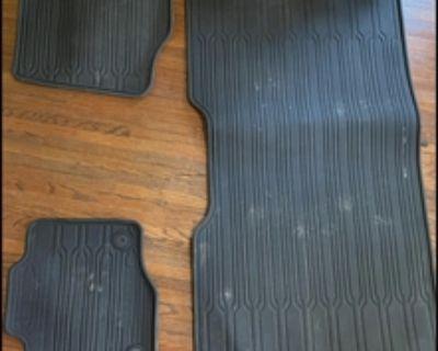 Ford F-150 rubber floor mat set