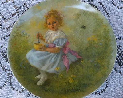 Vintage Little Miss Muffet Plate