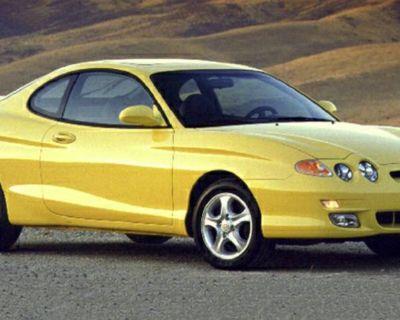2001 Hyundai Tiburon Base