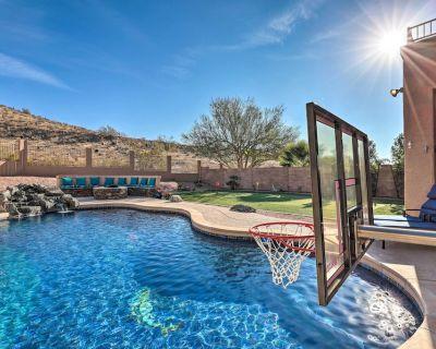 NEW! Phoenix Retreat w/ Outdoor Oasis & Game Room! - Foothills