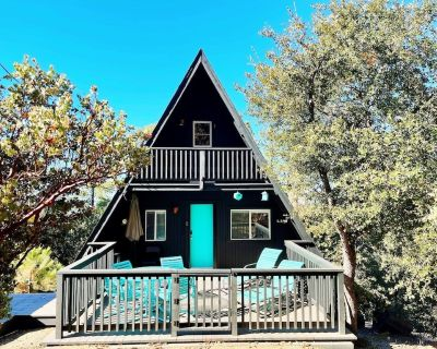 The Lazy A-Frame - Magical, Forest Views, Hot Tub - Pine Cove