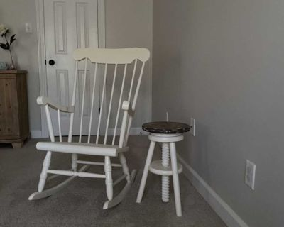 Rocking Chair & Table/Stool
