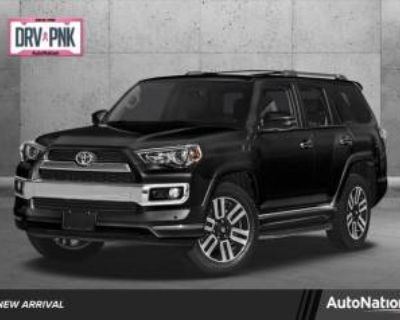 2017 Toyota 4Runner Limited RWD