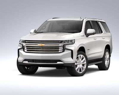 New 2021 Chevrolet Tahoe High Country Four Wheel Drive SUV