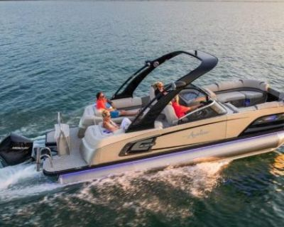 2021 Avalon Excalibur 25' Quad Lounger Elite Windshield