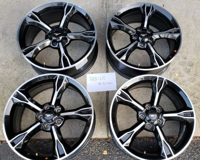 (Set of 4) 2016-2017 GT/CS wheels (19x8.5)