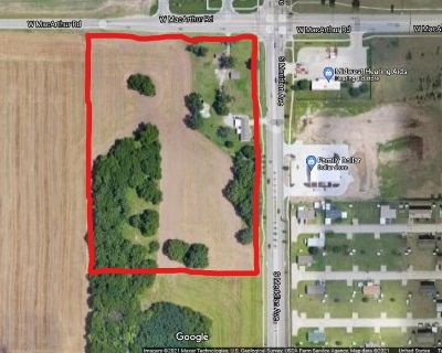 11.54 Acres of Development Land for Sale in Southwest Wichita!