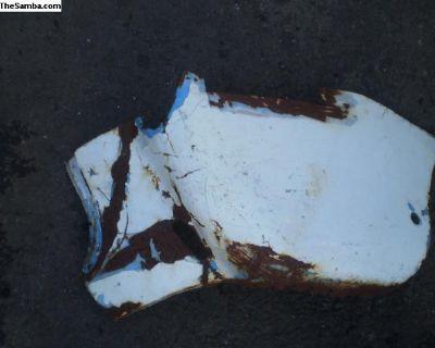 rear fender bottom section ghia