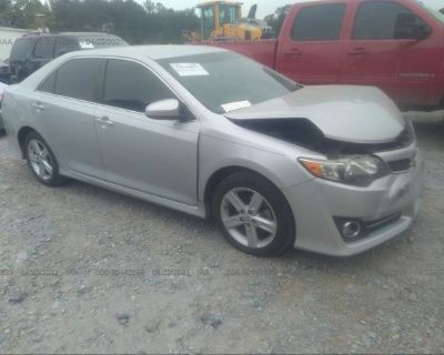Salvage Silver 2014 Toyota Camry
