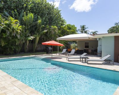 Blue Tempo - Luxury Retreat ~ Private Heated Saltwater Pool 2 Blks off Wilton Dr - Wilton Manors