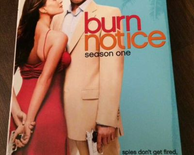 Burn Notice season 1 DVD