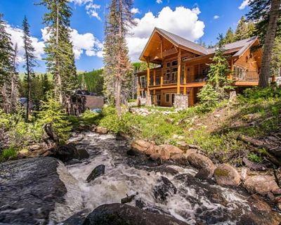 Rivamonte - Gorgeous mountain home on creek near Brighton Ski Resort - Salt Lake Mountain Resorts