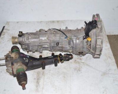 Jdm 00-05 Subaru Impreza Forester 5 Speed Awd Transmission Rear Diff 4.44