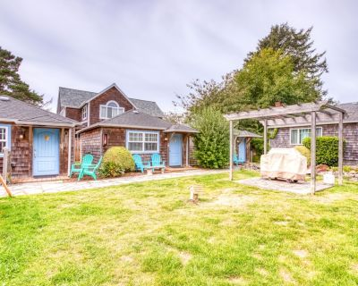 Six Dog-friendly Cottages w/ a Shared Courtyard & Grill - Two Blocks From Beach! - Downtown Cannon Beach