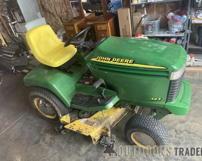 FS John Deere 345 Lawn and Garden Tractor for sale by Original Owner