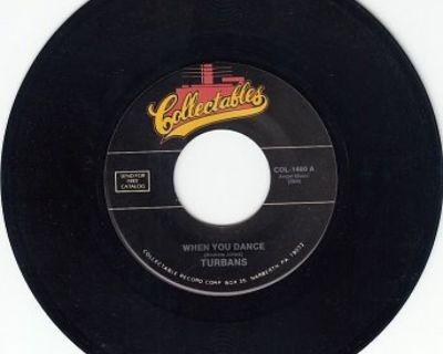 TURBANS ~ When You Dance*Mint-45 !