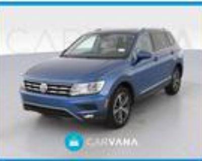 2018 Volkswagen Tiguan Blue, 45K miles