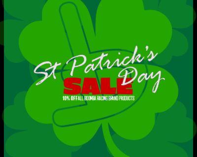 St. Patrick's Day SALE!