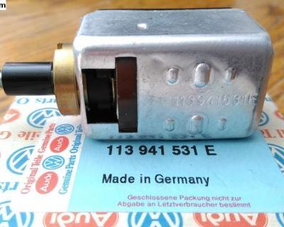 NOS FACTORY VW Headlight Switch All with Large Nut