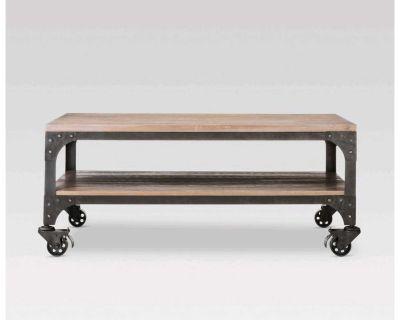 Franklin Coffee Table Wood Brown