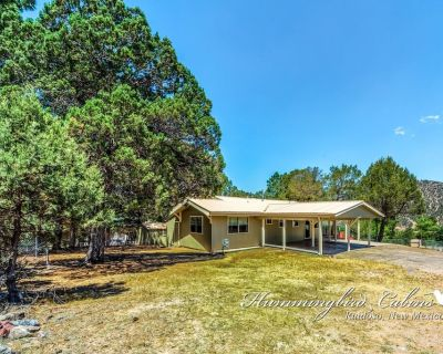 Bluebird View: level 2bed/2 bath, cozy home with hot tub and Sierra Blanca views! - Hollywood