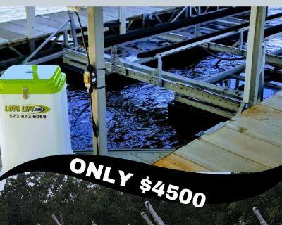 Boat Lift ***- 4500LT Model - LOTO Lift