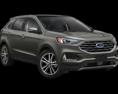 Pre-Owned 2019 Ford Edge Titanium With Navigation & AWD