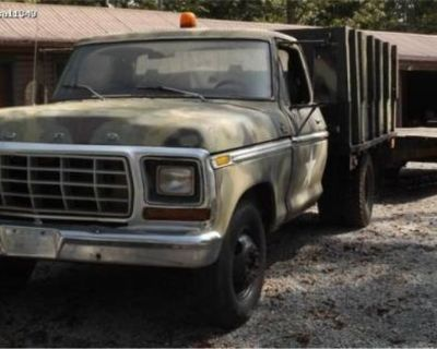 Ford 350 Flat Bed Truck
