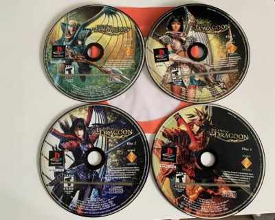 Legend of dragoon PS1
