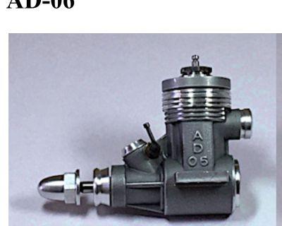 AD .06 Free Flight Engine