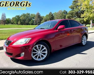 Used 2008 Lexus IS IS 250 AWD 6-Speed Sequential
