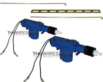 2 Pack Heavy Duty Power Door Lock Actuator Motor 12 Volt 12v