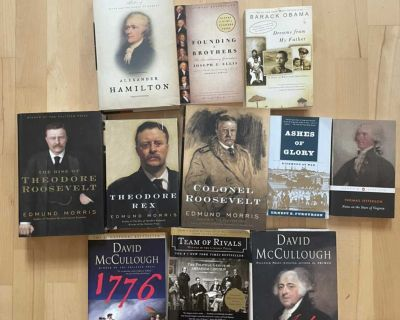 Lot of Historical/American History Biographies