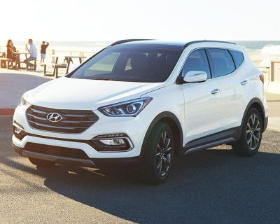 Pre-Owned 2018 Hyundai Santa Fe Sport 2.0L Turbo Ultimate With Navigation & AWD