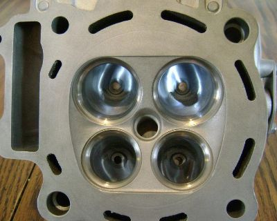 04 Honda Crf 450 Head With Lazer Porting's 60 Rwhp Porting! Nice!!