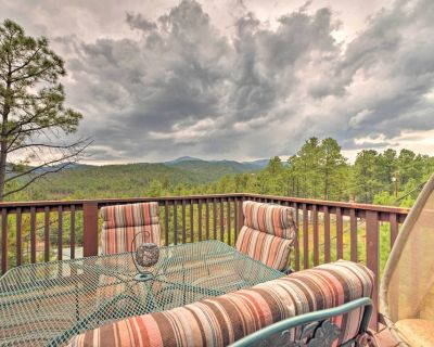 Cabin w/ Mtn Views, 2 Miles to Grindstone Lake - Ponderosa Heights