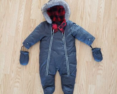 Like new baby snow suit