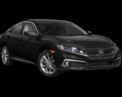 New 2021 Honda Civic EX-L FWD 4D Sedan