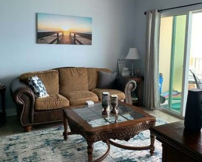 Beachfront! Beautiful Gulf View! 2 BR/2 BA Condo in Crystal Shores West. - Gulf Shores