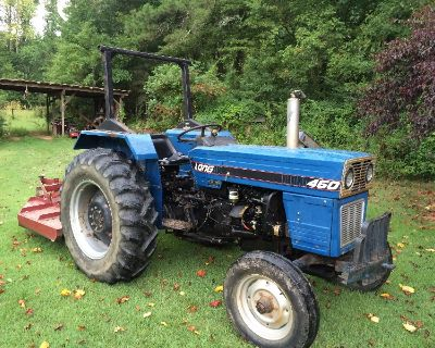 Farm Tractor with implements
