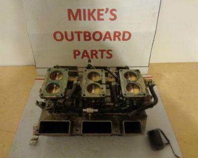 Yamaha 6j9-14301-03 & 02 Carbs With Silencer Box @@check This Out@@@
