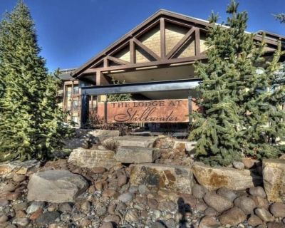 Ski Condo, 2 Bd/2 Bath Jordanelle Lift Access, Large Kitchen, Sleeps 6, Hot Tub - Heber City