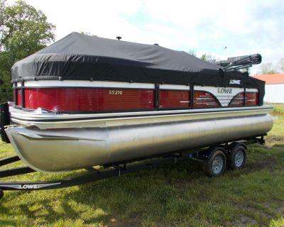 2021 Lowe SS210 W/ MERCURY 115 PRO XS CT & TRAILER Pontoon Boats West Plains, MO