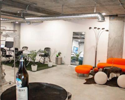 Private Office for 6 at Codi - Amazing Artistic Loft Space