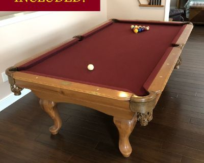 ProLine 8' Pool Table-FREE DELIVERY and SET-UP INCLUDED!
