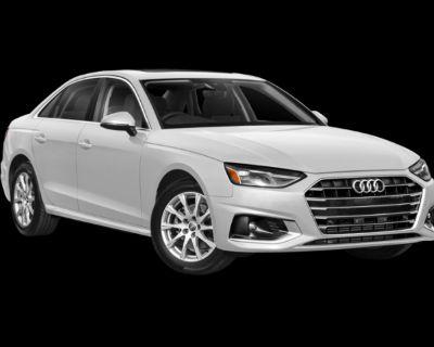 New 2022 Audi A4 All Wheel Drive Sedan